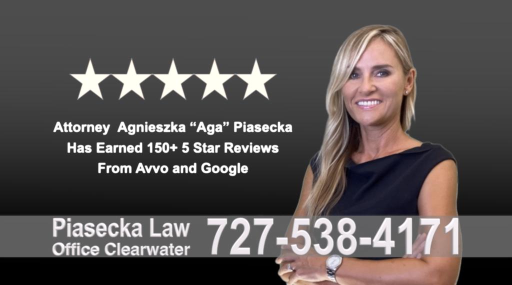 Immigration Clearwater Florida Polish, lawyer, Agnieszka, Aga, Piasecka, Polish, Lawyer, Attorney, Opinie klientów, Best, Najlepszy, Polskojęzyczny, Prawnik, Polski, Adwokat, Florida, Floryda, USA