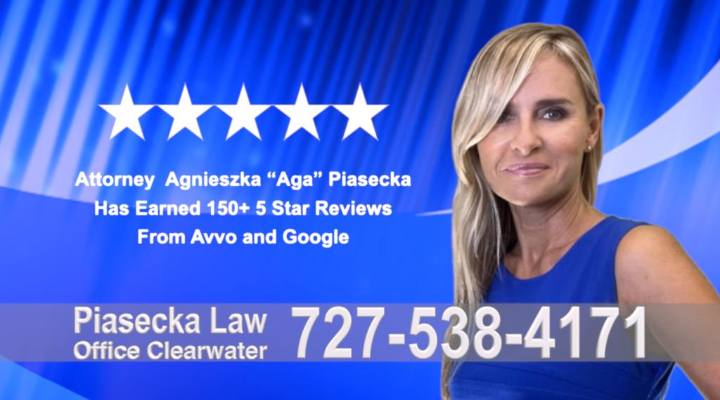 Immigration Clearwater Florida Polish, lawyer, Agnieszka, Aga, Piasecka, Polish, Lawyer, Attorney, Opinie klientów, Best, Najlepszy, Polskojęzyczny, Prawnik, Polski, Adwokat, Florida, Floryda, USA 18