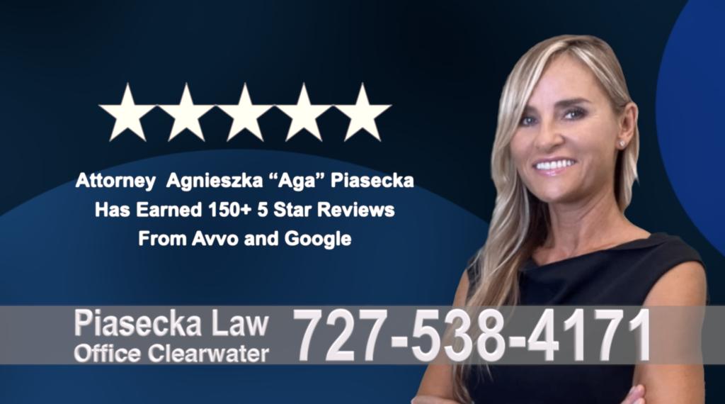 Immigration Clearwater Florida Polish, lawyer, Agnieszka, Aga, Piasecka, Polish, Lawyer, Attorney, Opinie klientów, Best, Najlepszy, Polskojęzyczny, Prawnik, Polski, Adwokat, Florida, Floryda, USA 24